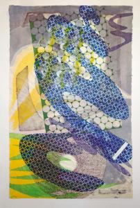 Tandem Series #30, Lynda Benglis. 1988