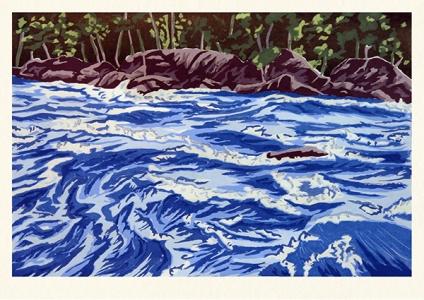 River Rising, Richard Bosman. 2009