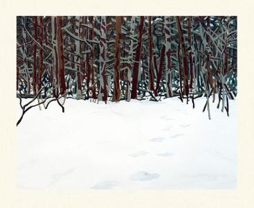 Tracks, Richard Bosman. 2009