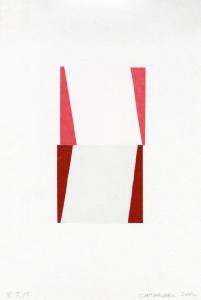 Rhythm (Vandercook Suite), Suzanne Caporael. 2013