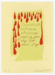 Salt Tears (Beowulf Suite), Suzanne Caporael. 2009