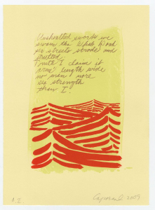 Whale Road (Beowulf Suite), Suzanne Caporael. 2009
