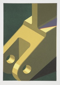 Component V, Robert Cottingham. 2008