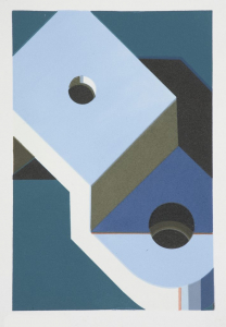 Component XXVI, Robert Cottingham. 2008