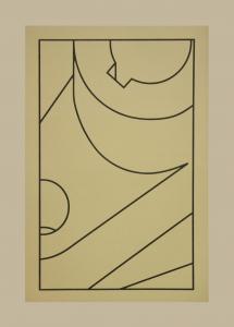 Component XX (black line), Robert Cottingham. 2010