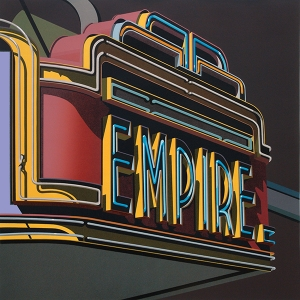 Empire, Robert Cottingham. 2012