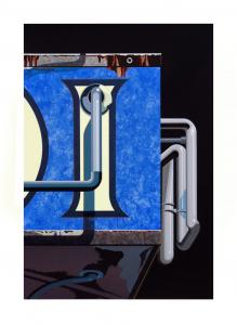 An American Alphabet: I, Robert Cottingham. 2009