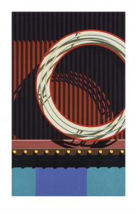 An American Alphabet: O, Robert Cottingham. 2007