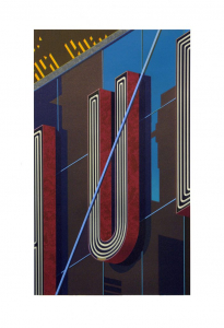 An American Alphabet: U, Robert Cottingham. 2012
