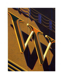 An American Alphabet: W, Robert Cottingham. 2010