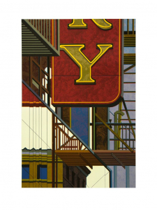 An American Alphabet: Y, Robert Cottingham. 2012