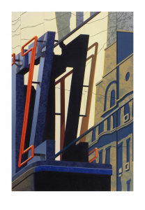 An American Alphabet: Z, Robert Cottingham. 2008