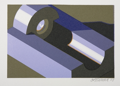 Component XVII, Robert Cottingham. 2008