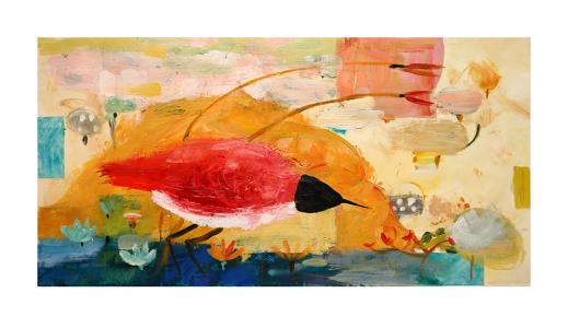 Marble Mountain, Bird and Branches, Valentina DuBasky. 2014