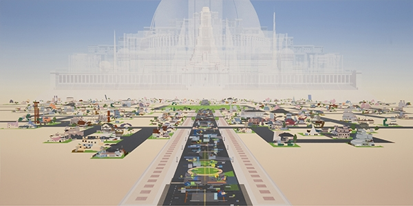 Automatic City, Benjamin Edwards. 2005