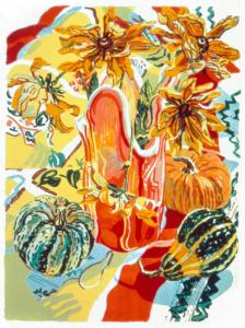 Autumn Still Life, Janet Fish. 1992