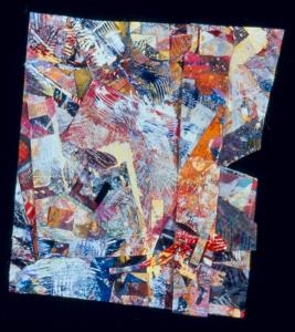Snow Lane #19, Sam Gilliam. 1996