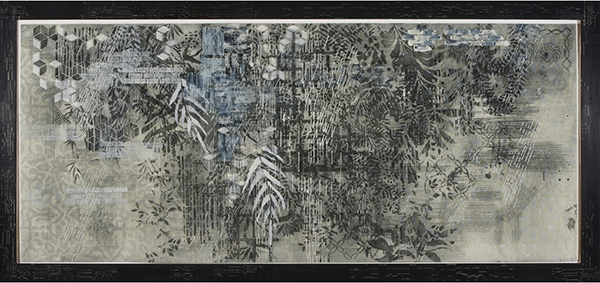Snowy Egret, Judy Pfaff. 2005