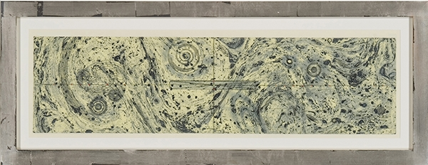 Untitled (marbleized), Judy Pfaff. 2004