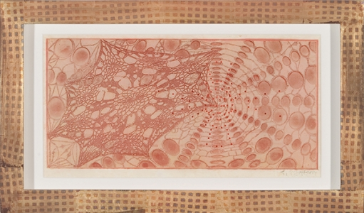 Untitled (colored lace), Judy Pfaff. 2005