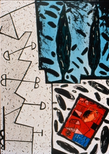 2 Cypress, Italo Scanga. 1989