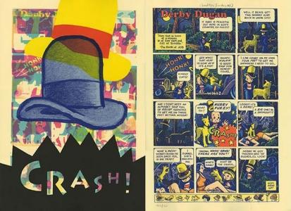 Lead Pipe Sunday #2 (Derby Dugan) (back), Art Spiegelman. 1997