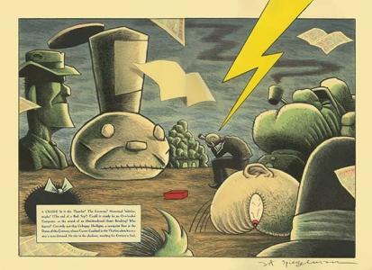 Lead Pipe Sunday #2 (front), Art Spiegelman. 1997