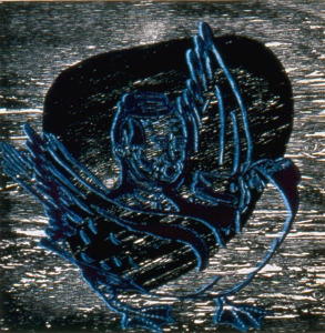 Untitled (black duck), Fred Stonehouse. 1991