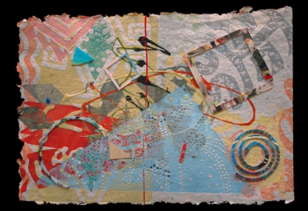 "A Bird Sings #12 ""Sing, Sing, Sing (With a Swing)"", William Weege. 2009"
