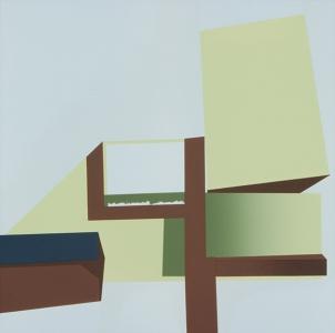 Block Fault (left), Robert Yoder. 2004