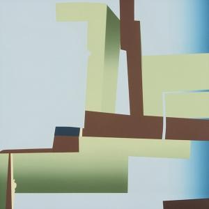 Block Fault (right), Robert Yoder. 2004