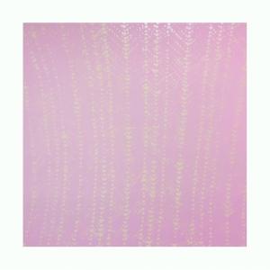 Pink Crochet Ripple, Michelle Grabner. 2015