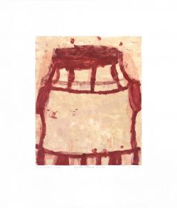Cake Blood Red (GK00 607.28), Gary Komarin. 2000