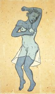 Haint Blue, e.v. 11/12, Alison Saar. 2016