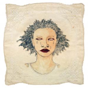 High Yella' Blue, e.v. 8/20, Alison Saar. 2016