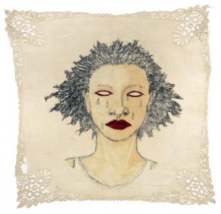 High Yella' Blue, e.v. 9/20, Alison Saar. 2016