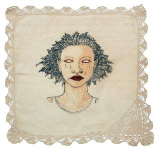 High Yella' Blue, e.v. 10/20, Alison Saar. 2016