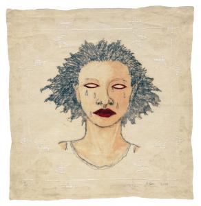 High Yella' Blue, e.v. 16/20, Alison Saar. 2016