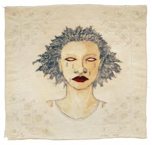High Yella' Blue, e.v. 18/20, Alison Saar. 2016