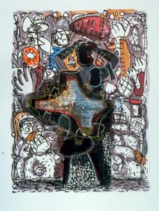 Untitled (Tormenta Series #22), Gronk. 2001