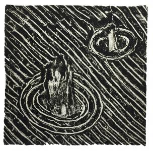 Untitled (2 dark), David Lynch. 1999