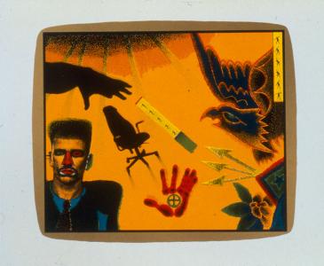 L.A. Ex, Ed Paschke. 1994