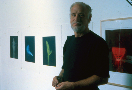 Robert Stackhouse in the studio