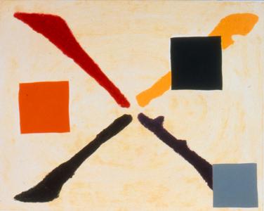 Color X, Katherine Bradford. 1993