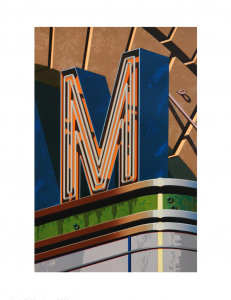 An American Alphabet: M, Robert Cottingham. 2002