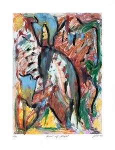 Bird of Flight, George Cramer. 1994