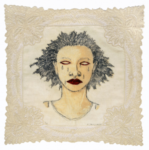 High Yella' Blue, e.v. 1/21, Alison Saar. 2016