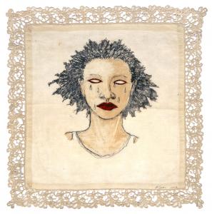 High Yella' Blue, e.v. 3/21, Alison Saar. 2016
