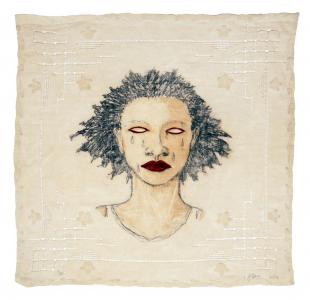 High Yella' Blue, e.v. 11/21, Alison Saar. 2016