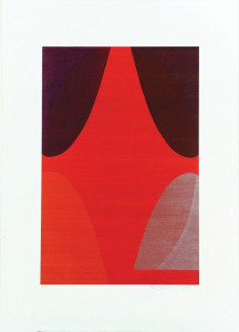 No Title (right), Sam Gilliam. 2002